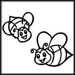 bee coloring page bee coloring part 2