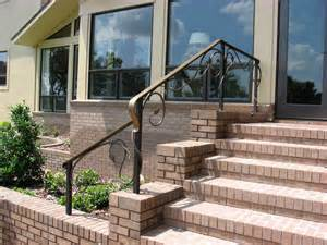 Handrails For Concrete Steps Stairs Inspiring Exterior Handrails Exterior Handrails