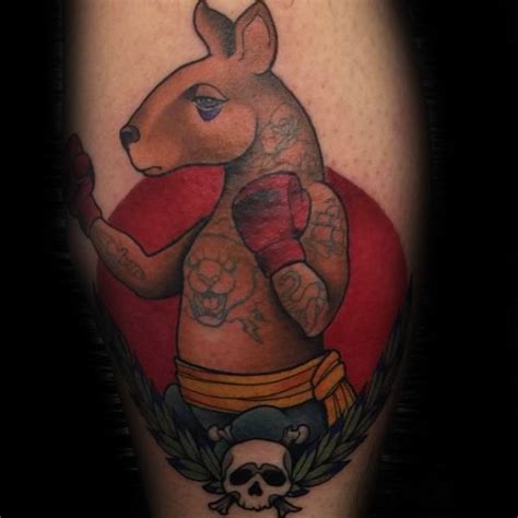 animal tattoo artists sydney 50 kangaroo tattoo designs for men australian animal ideas