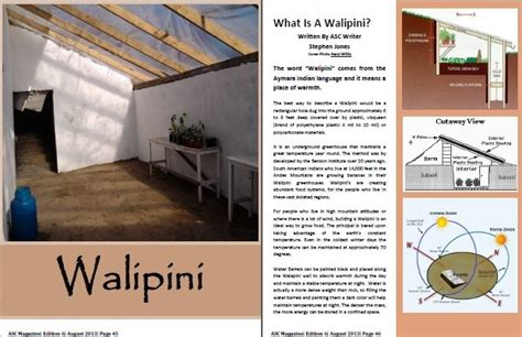 Berm House Plans 5 reasons to grow your food in a walipini prlog