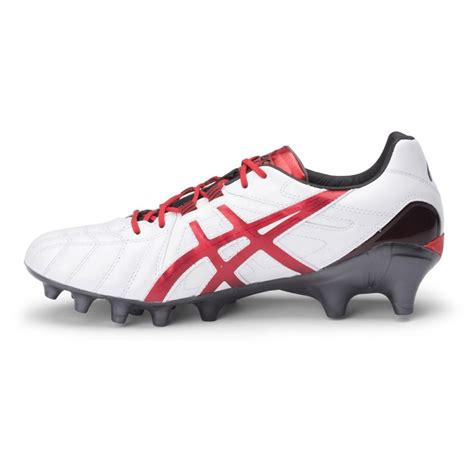 white football shoes asics lethal tigreor 8 it mens football boots white
