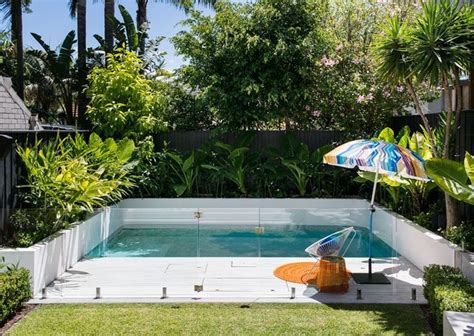 pools in backyards 25 best ideas about small backyard pools on