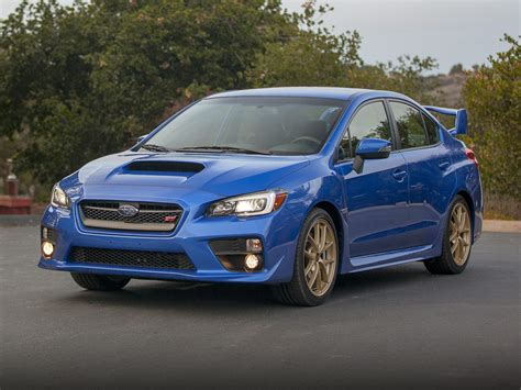 subaru wrx 2016 subaru wrx sti price photos reviews features