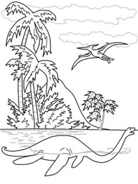 sea dinosaurs coloring pages colors dinosaurs and fun facts on pinterest