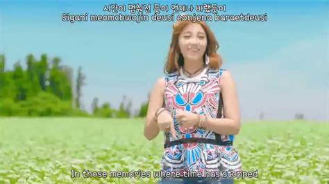 a pink remember eng sub romanization hangul mv hd