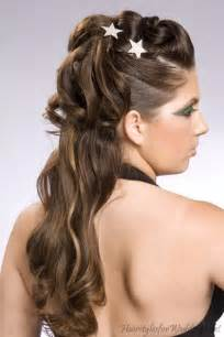 half up hairstyles for long hair video collections