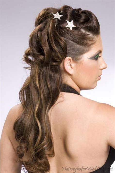 hairstyles half up half down how to prom half up half down updo hairstyle pictures prom
