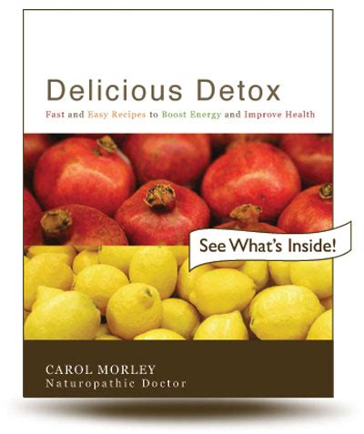 Tealish Delicious Detox Reviews by Book Reviews February 2011 Canadian Chiropractor