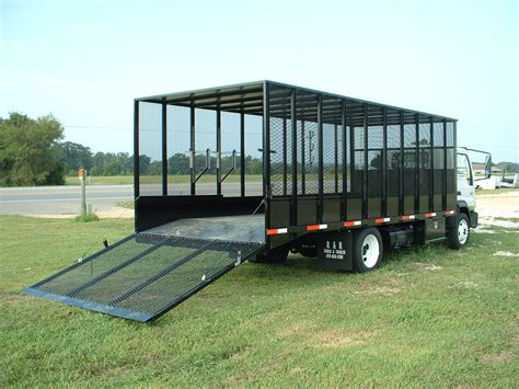 Landscaper Truck Bed R R Truck And Trailer Manufacturing Inc