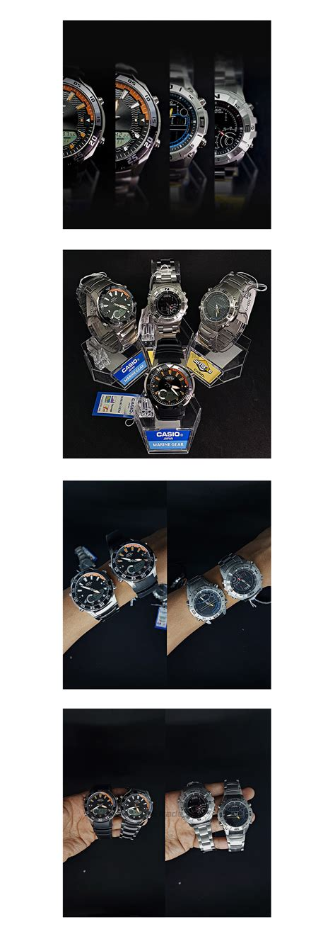 I Gear Original Water Resist 100m ready stock casio outgear amw 710 1av marine gear