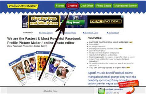tips buat yel yel keren cara buat foto profile dengan gambar keren dengan cepat