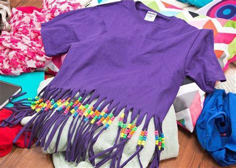 Diy Fringe T Shirt Ambrosia 15 Diy T Shirt Craft Ideas Diy To Make