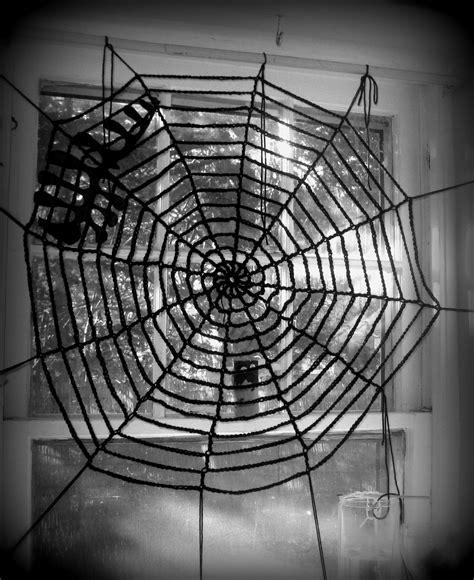spider web pattern crochet horror bride archive