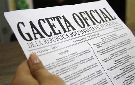decreto bono alimentacion 2016 oficializan en gaceta aumento del salario m 237 nimo y bono de