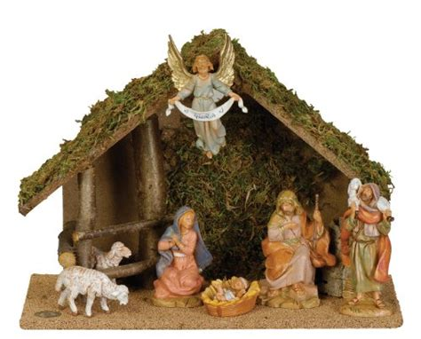 fontanini by roman figure centennial nativity set w