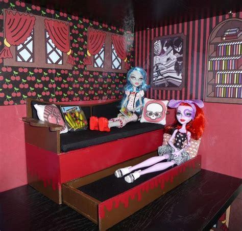 monster high themed bedroom monster high dead tired bedroom bookcase kit w abbey s room doll