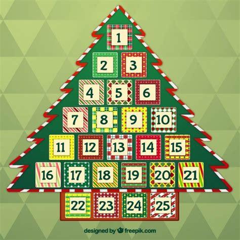 Tree Advent Calendar Advent Vectors Photos And Psd Files Free