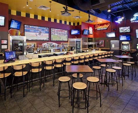 Bar Floor Plan Design by Buffalo Wild Wings Restaurant Interior Bar Sicklerville