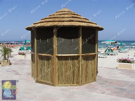 mini gazebo ombrelloni in canna paglia gazebo mini mid maxi