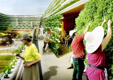 Visionary Homefarm combines retirement homes and vertical