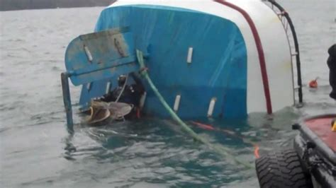 why did destination crab boat sink the crab boat job youtube