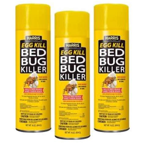 bed bugs spray home depot harris 16 oz egg kill bed bug killer 3 pack egg16 3pk