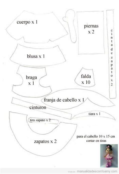 patrones fofuchas bailarinas patrones fofuchas mu 241 eca fofucha bailarina de ballet con plantilla para