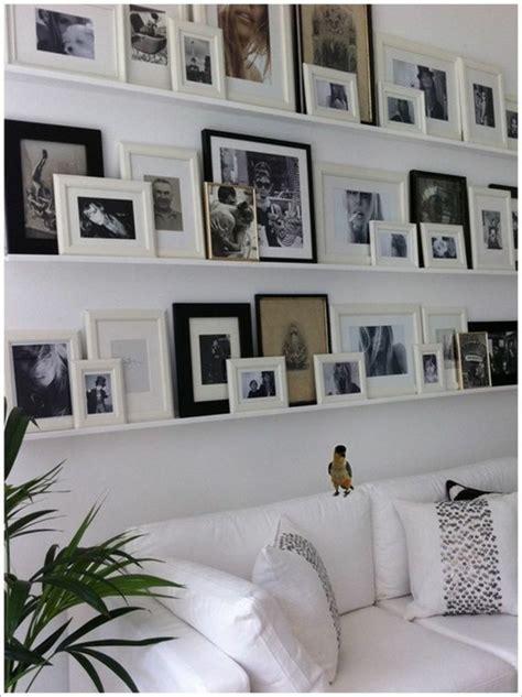 Wand Mit Vielen Bilderrahmen by 55 Ausgefallene Bilderwand Und Fotowand Ideen