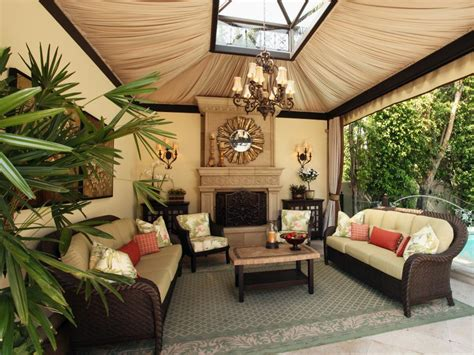 Outdoor Living Space | high end outdoor living space christopher grubb hgtv