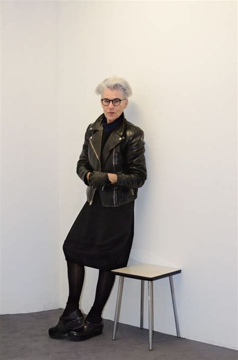 edgy older women fashion 17 best images about grey hair on pinterest long
