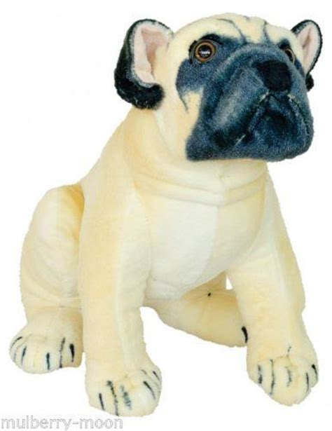 size pug stuffed animal size pug soft plush mulberry moon