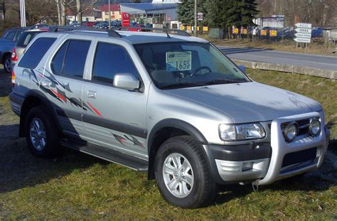 opel frontera lifted file opel frontera limited 4x4 jpg wikimedia commons