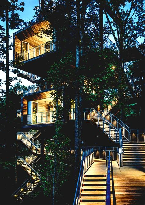 Promo Best Treehouse Board architecture fantastic multi platform tree house concept with homelk