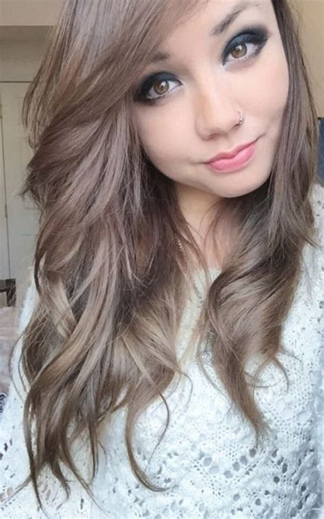 ash brown hair color 54 ash brown hair style easily