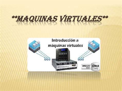 imagenes maquinas virtuales maquinas virtuales