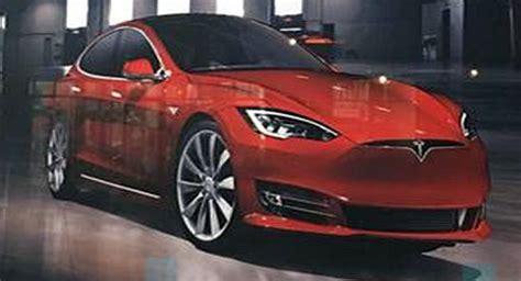 tesla model s 8 5 2017 tesla model s facelift picture leaked updated