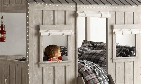 mickey mouse clubhouse schlafzimmer ideen cabin bed by restoration hardware