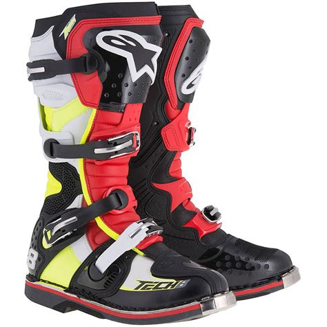 Csusb Mba Bootc by Alpinestars 2018 Tech 8 Rs Black Fluro Boots At Mxstore