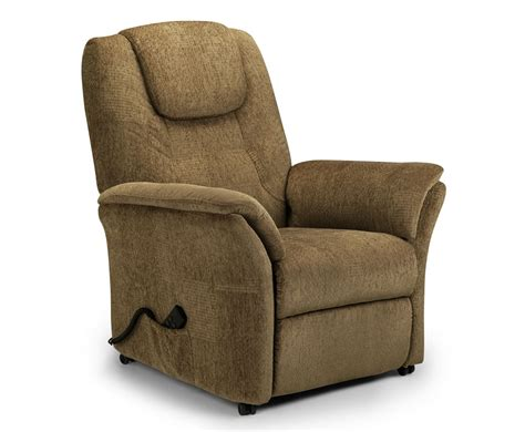 chenille recliner chair reva cappuccino chenille rise recliner chair