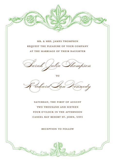 Wedding Border Green green wedding borders for invitations www pixshark