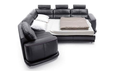 Genuine Leather Sectional Sofa by Esf Camino Black Italian Genuine Leather Sectional Sofa
