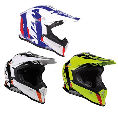 lazer motocross helmets lazer x8 whip mx off road quad atv enduro thermo resin