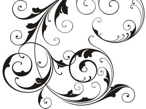 swirl pattern artists swirl designs free cliparts co