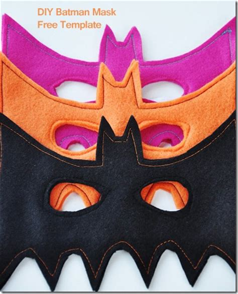 diy batman mask template batman mask diy