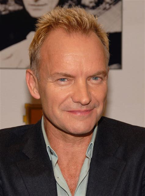 sting has a receding hairline so he tends to wear his hair short has sting had a hair transplant sting hair transplant the