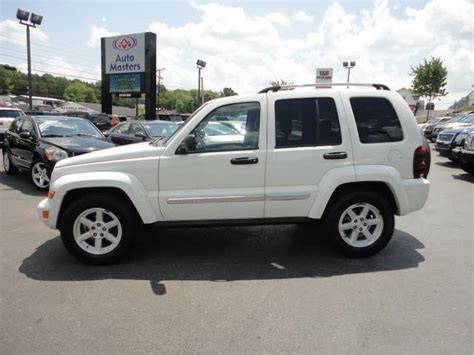 2005 jeep liberty limited edition 2005 jeep liberty white suv mitula cars