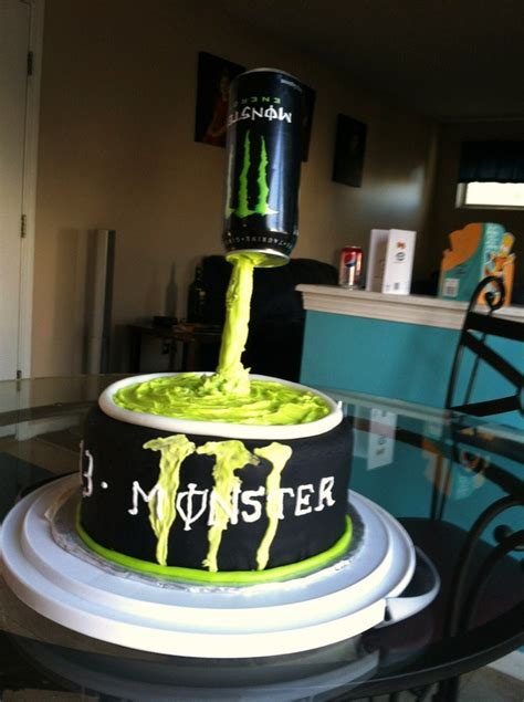 Monster  Ee  Birthday Ee   Cake For  Year Old Cakescupcakes