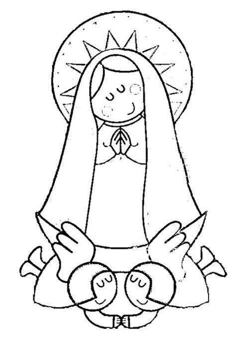 Imagen Virgen Maria Para Pintar | dibujos de la inmaculada concepci 243 n de mar 237 a para imprimir