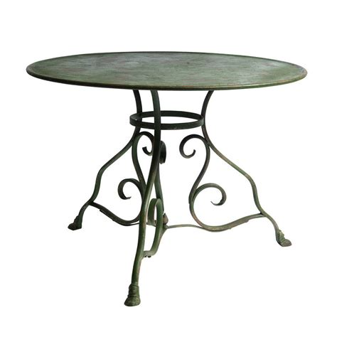 Green Patio Table Patio Table In Green By Out There Interiors Notonthehighstreet