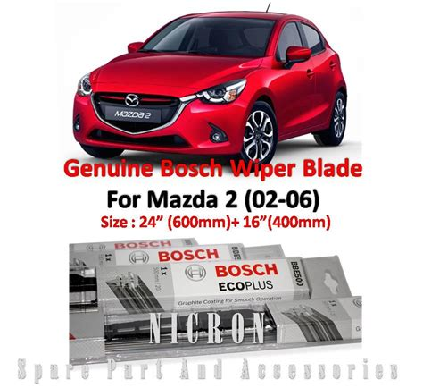 mazda 2 size 24 16 genuine bosch w end 5 31 2018 8 15 pm